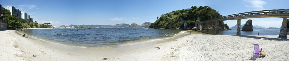Rio de Janeiro Panorama Boa Viagem Beach Niteroi