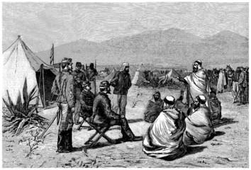 French Colonialism - Arabian Leaders - 19th century