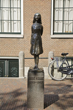Anne Frank in Amsterdam