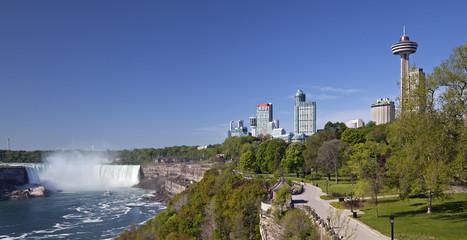 Niagara Falls and city, Ontario, Canada