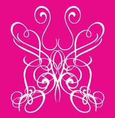 Butterfly Tribal Tattoo Vector Clipart Design