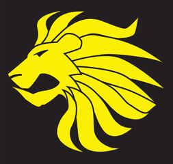 Leo Lion Vector Clipart Design