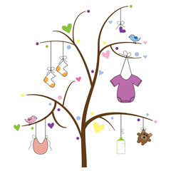 Baby Item Tree