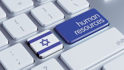 Israel Human Resources Concept