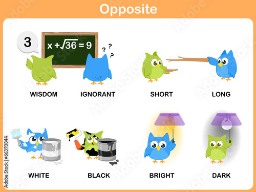 """Opposite word for preschool"""" Stock photo and royalty-free images ..."""