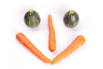 Vegetarische Ernährung mit Lächeln