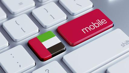 United Arab Emirates. Mobile Concept