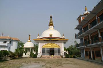 ルンビニのネパール尼僧院