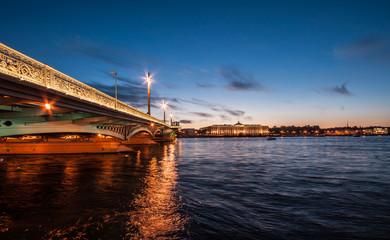 Blagoweschtschenski-Brücke - Sankt Petersburg