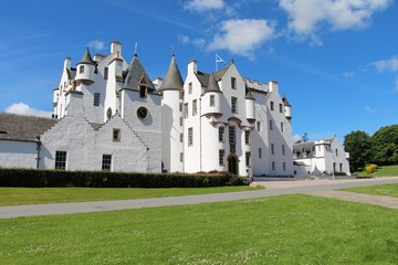 Foto auf Gartenposter Schloss Blair Castle