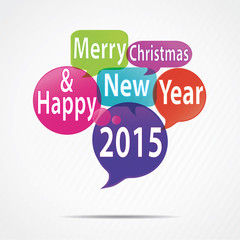 bubbles : happy new year 2015