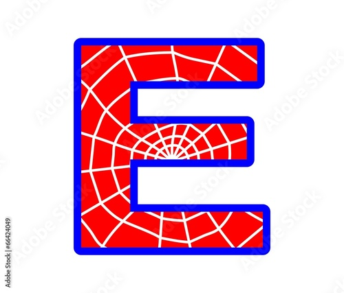 E letter spider web alphabet stock image and royalty free vector e letter spider web alphabet altavistaventures Images