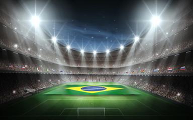 Stadium Brasil flag