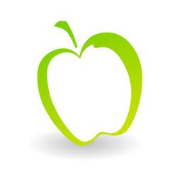 Shape Of Green Apple