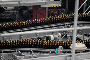 Beer factory interior