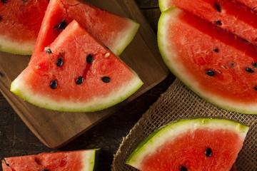 Ripe Healthy Organic Watermelon