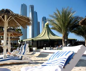 Luxury place resort in Abu Dhabi