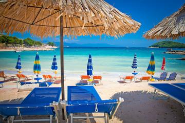 Beautiful Ksamil beach, Albania.