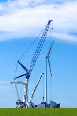 Energieversorger - Baustelle