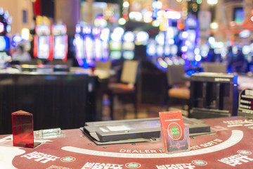 Casino Table in Vegas