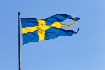Swedish naval flag