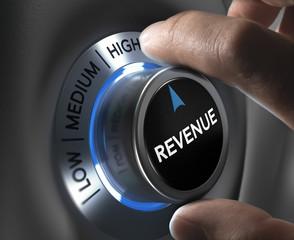 Obraz Increase Sales Revenue - fototapety do salonu