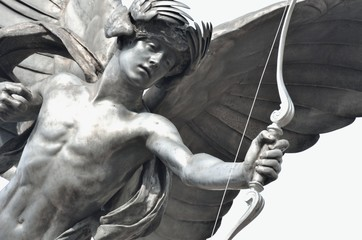 Detail of Eros Statue