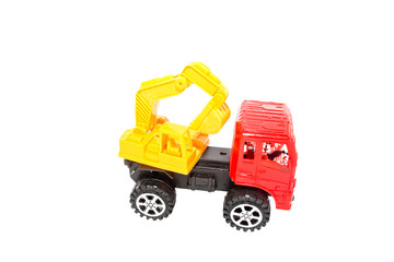 Toy Loaders isolate on white