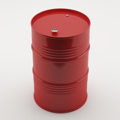 Red oil Barrel