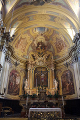 Church of Saint Vitale. Parma. Emilia-Romagna. Italy