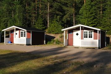Kleine  Ferienhäuser