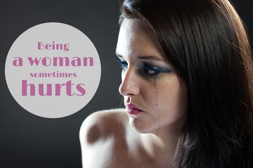 Being a woman sometimes hurts