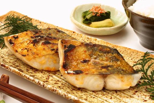 焼き魚 鰆の西京焼き 焼き魚定食
