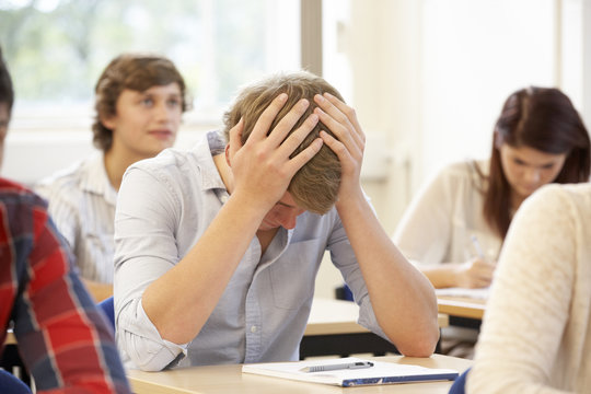 Student struggling in class