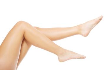 Fit long woman legs