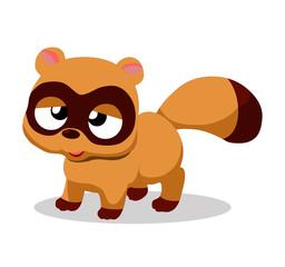 Illustration of cute fox