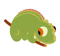 Illustration of cute gecko