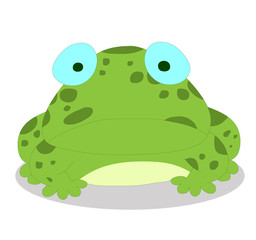 Illustration of cute frog