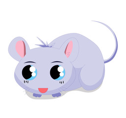 Illustration of cute mouse