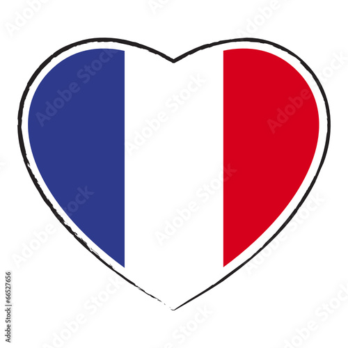 "Gut bekannt Cœur drapeau français. French flag in heart shape."" fichier  TS73"
