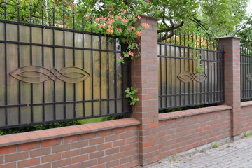 Decorative protection from polycarbonate