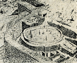 Mycenaean necropolis (reconstruction)