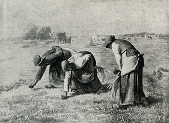 The Gleaners (Jean-François Millet, 1857)