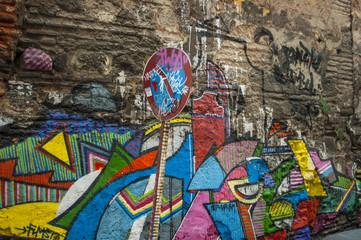 [Türkei] Istanbul - Graffiti, Straßenkunst, Kunst
