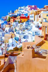 Spoed Foto op Canvas Santorini Santorini Oia Greece