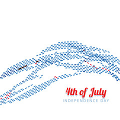 4th of july vector
