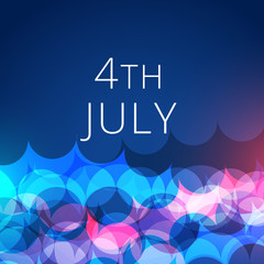 stylish 4th of july background