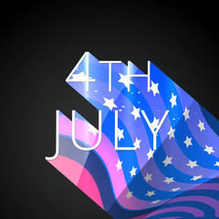 stylish 4th of july background