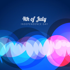 vector abstract 4th of july