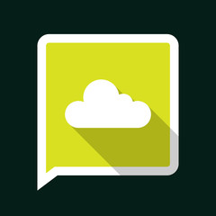 Minimal Cloud Icon